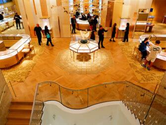 Tiffany & Co. New York - Butikken