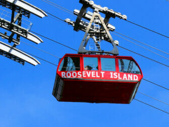 Shopping på Upper East Side i New York - Roosevelt Island Tramway