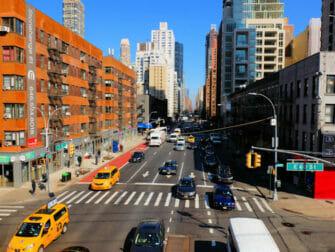 Shopping på Upper East Side i New York - Gade