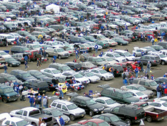 New York Giants billetter - Tailgating