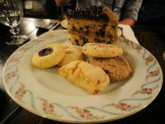 Afternoon tea hos Alice's Tea Cup - Cookies