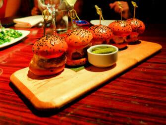 Bedste burger i New York - STK Sliders