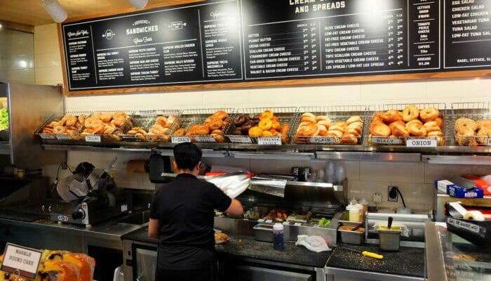 Bedste kaffe og bagels i New York - Pick A Bagel