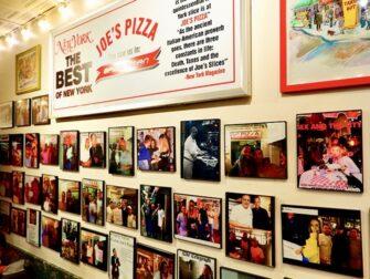 Bedste pizza i New York - Joe's New York