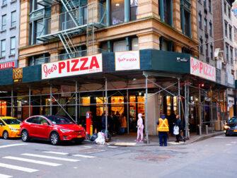 Bedste pizza i New York - Joe's Pizza