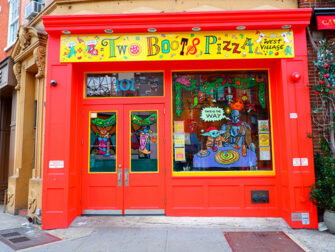 Bedste pizza i New York - Two Boots