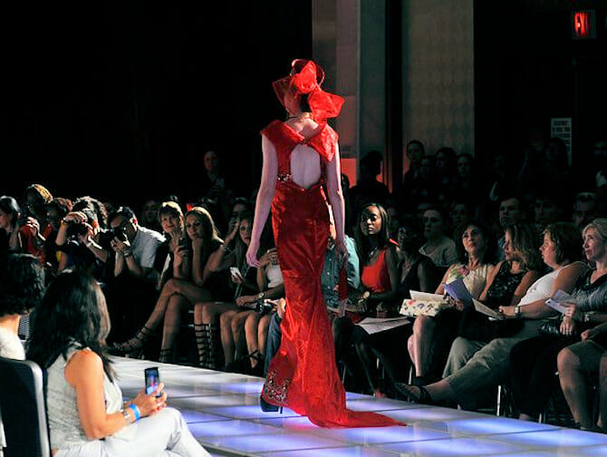 Couture Fashion Week i New York - Andres Aquino