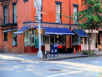 Bedste cupcakes i New York - Magnolia Bakery udefra