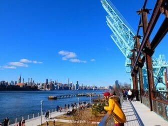 Parker i New York - Gangbro i Domino Park