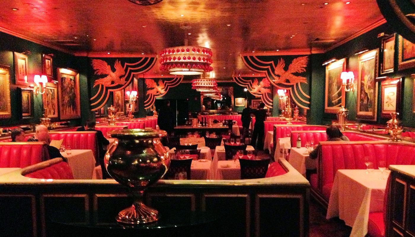 Russian Tea Room i New York - Indenfor