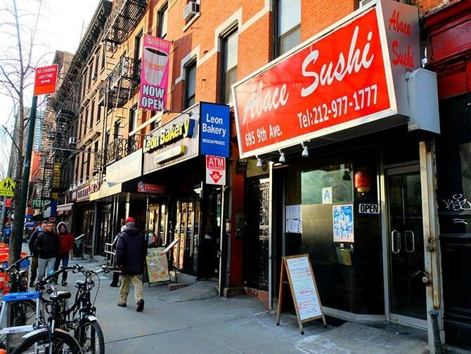 Bedste sushi i New York - Abace Sushi