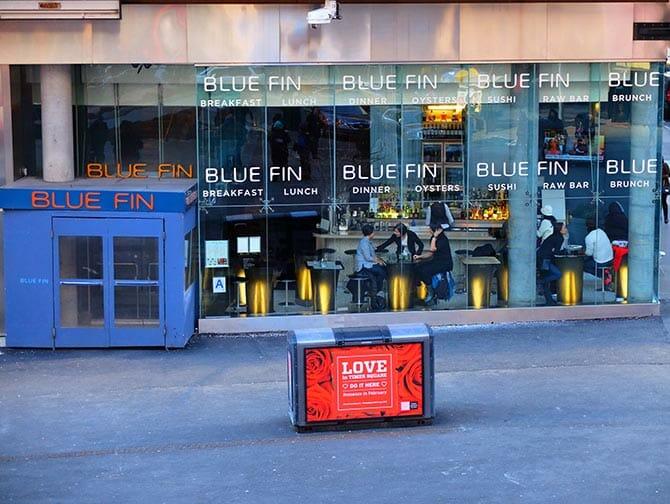Bedste sushi i New York - Blue Fin