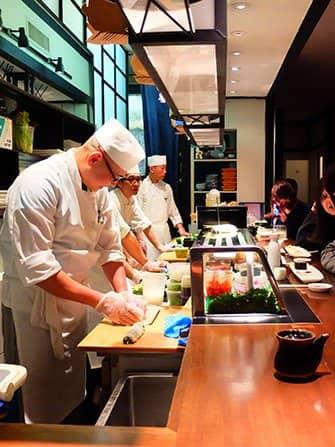 Bedste sushi i New York - Takahachi
