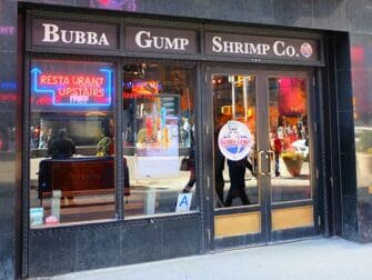 Temarestauranter i New York - Bubba Gump