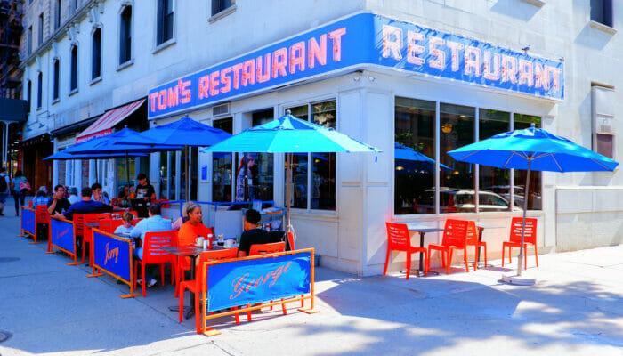 Morgenmad i New York - Toms Restaurant