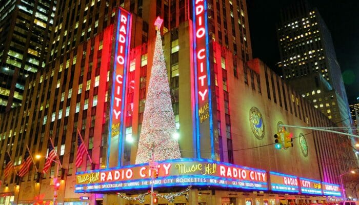 Jul i New York - Radio City Christmas Spectacular