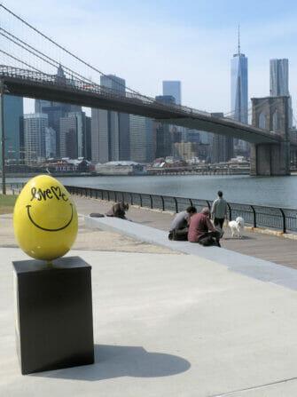 Påske i New York - Gult påskeæg