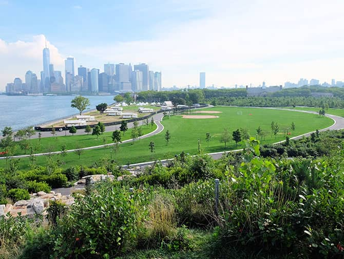 Labor Day i New York - Governors Island