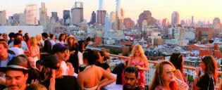De bedste rooftop-barer i New York