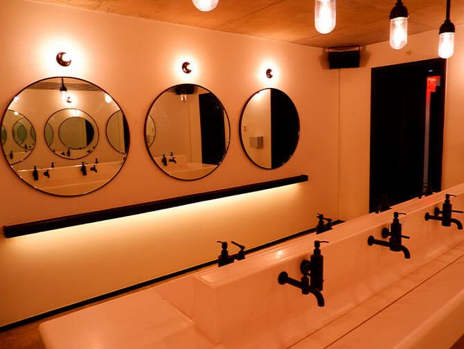 Offentlige toiletter i New York
