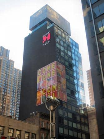 citizenM Hotel Times Square - Bygningen