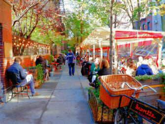 Greenwich Village i New York - Gade