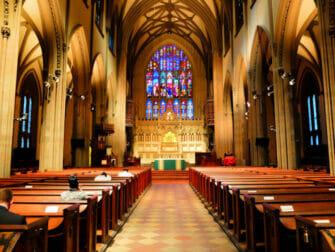 Lower Manhattan og Financial District i New York - Trinity Church