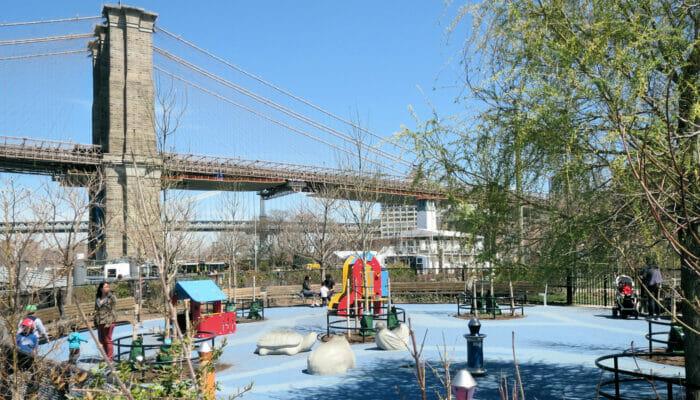 Legepladser i New York - Pier 1