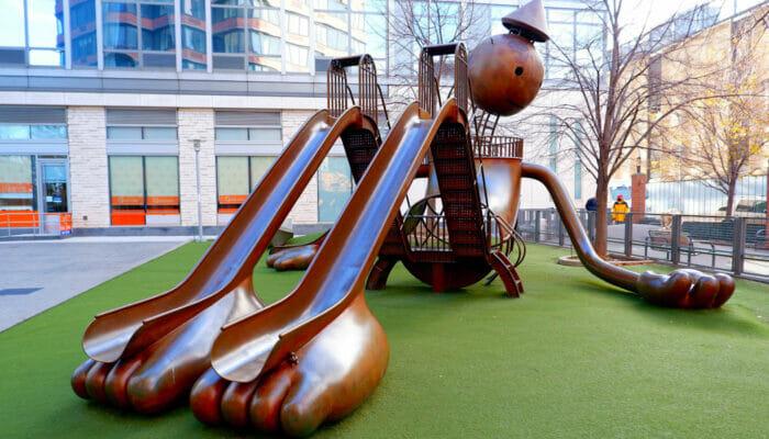 Legepladser i New York - Tom Otterness Playground