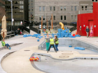 Legepladser i New York - South Street Seaport Playground