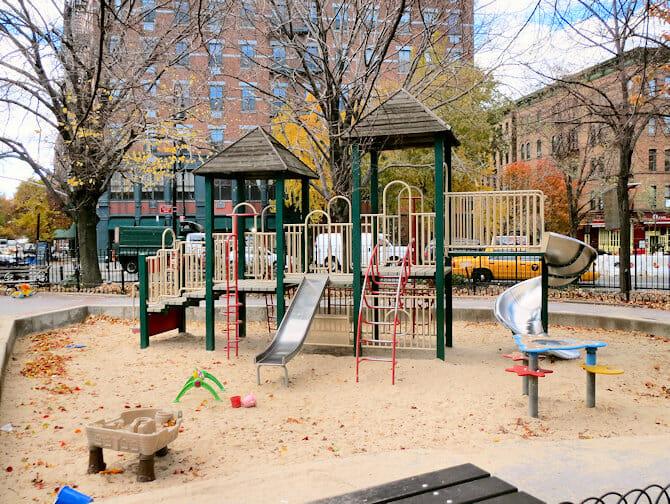 Legepladser i New York - Bleecker Street Playground