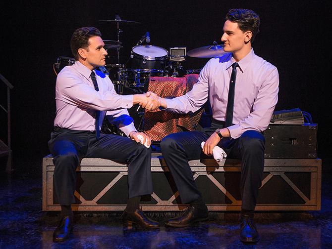 Jersey Boys Broadway billetter - Handshake