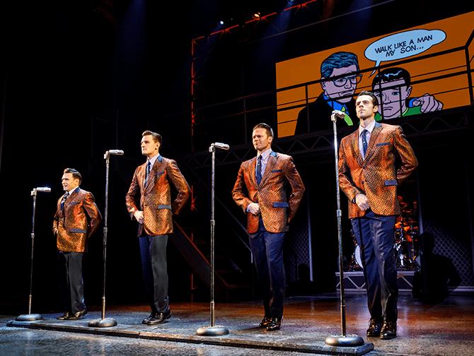 Jersey Boys Broadway billetter - Show