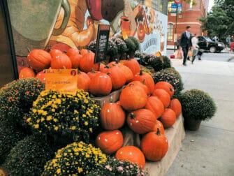 Halloween i New York - Græskar