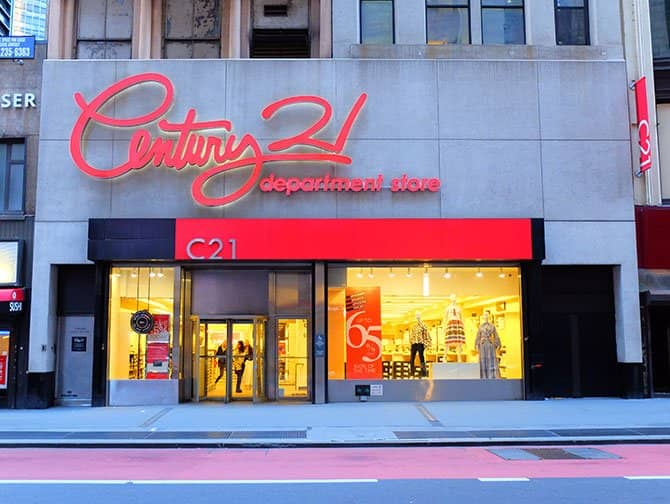 Outlets i New York - Century 21