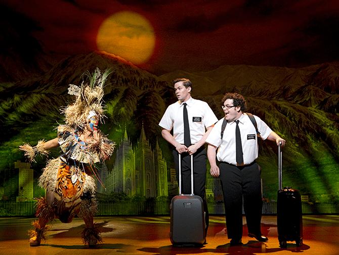 The Book of Mormon Broadway billetter - Arnold og Kevin