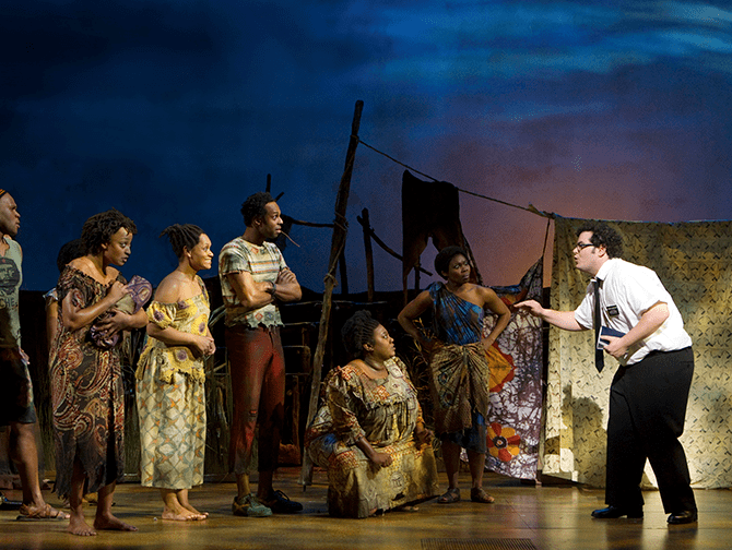 The Book of Mormon Broadway billetter - I Uganda