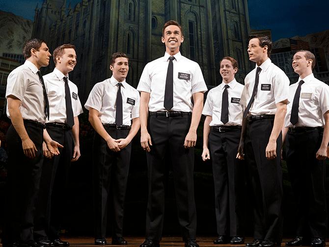 The Book of Mormon Broadway billetter - Missionærer