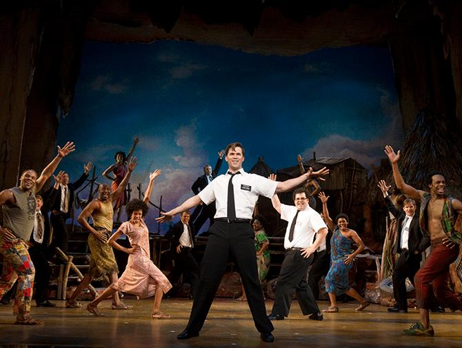 The Book of Mormon Broadway billetter - Blandt de lokale