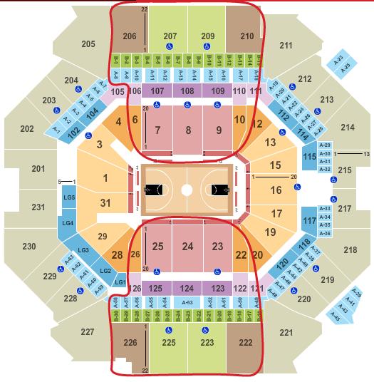 Brooklyn Nets billetter - Barclays Center oversigt