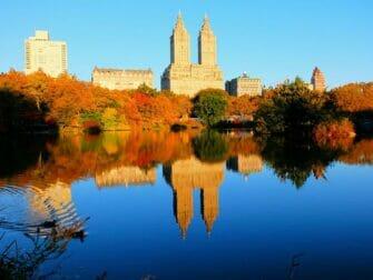 Guidet tur til filmlokationer i Central Park - Reservoir