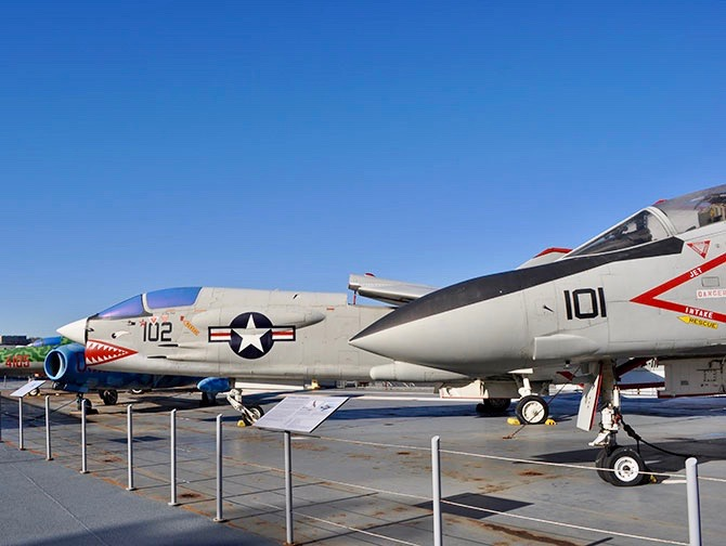 Intrepid Sea, Air and Space Museum i New York - Jagerfly