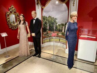 Madame Tussauds i New York - Det britiske kongehus