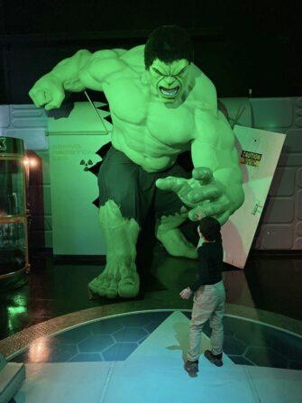 Madame Tussauds i New York - Hulk