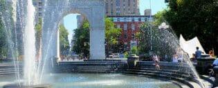 Guidet tur til tv- og filmlokationer i New York