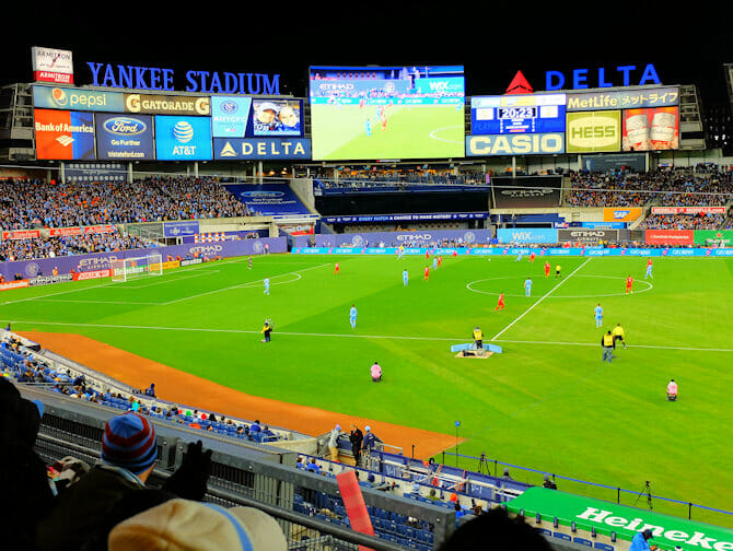 New York City FC billetter - Yankee Stadium