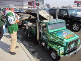 New York Jets billetter - Tailgating