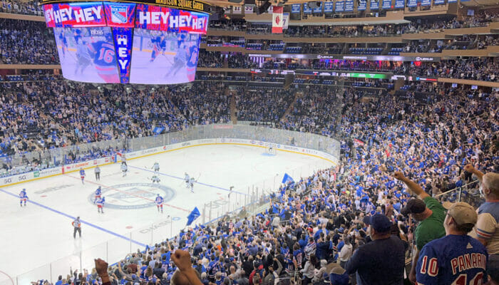 New York Rangers billetter - Madison Square Garden