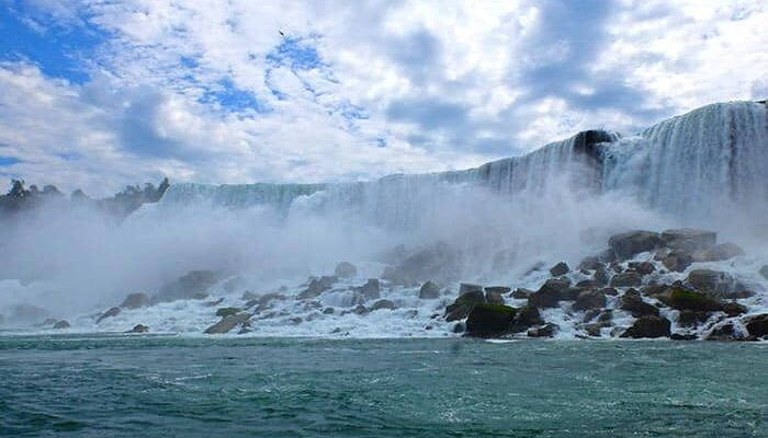 New York til Niagara Falls 2-dages tur - Horseshoe Falls