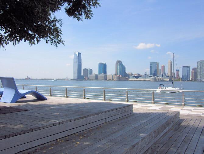 Legepladser i New York - Pier 25 i TriBeCa